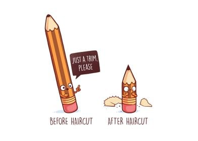 Before After Haircut