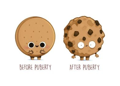 Before After Puberty