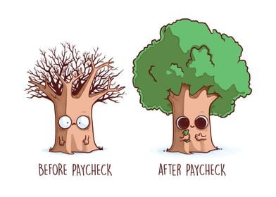 Before After Paychek
