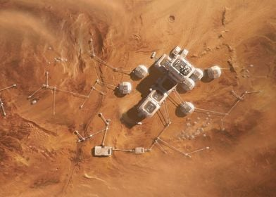 SOL 081 on a Martian Base