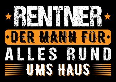 Geschenk Rentner Pensionr Gedicht Zeichnung Color 20 x 15 cm ...
