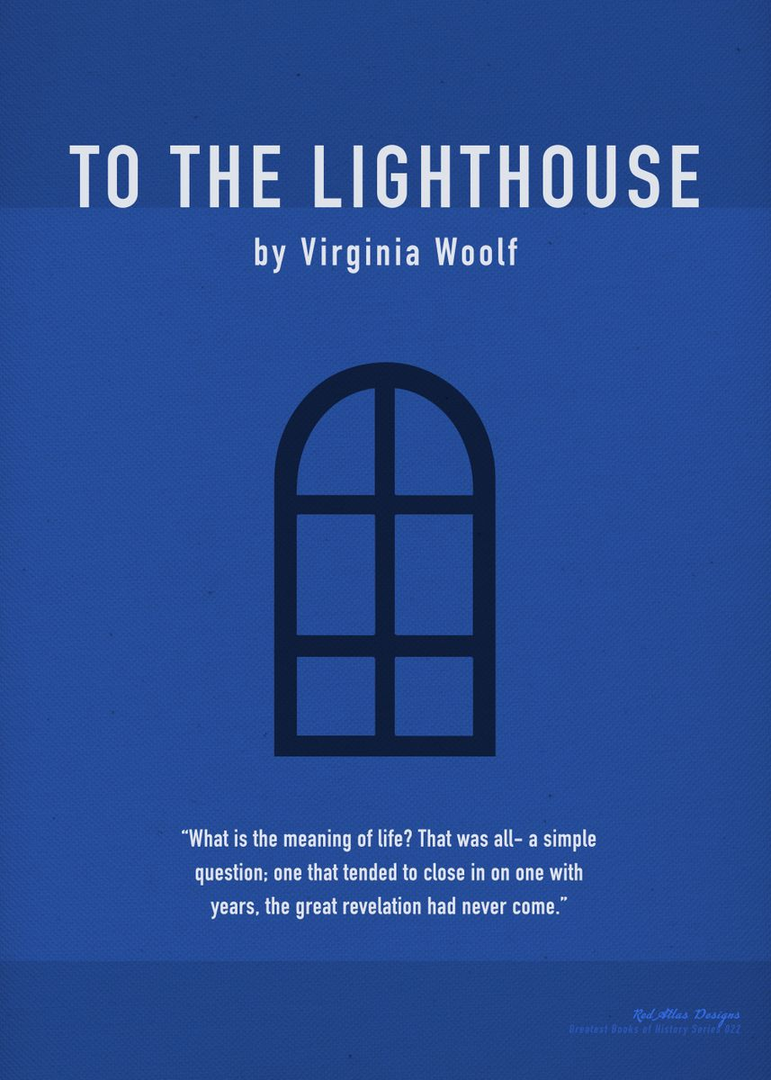 To the Lighthouse Greatest Boo    by Design Turnpike | metal