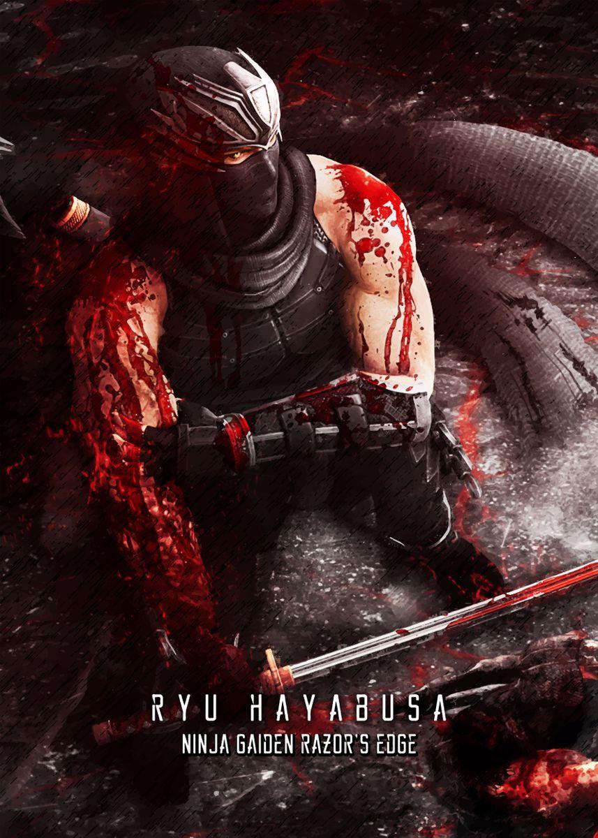 Ninja Gaiden Razors Edge Poster Print By Syanart Displate