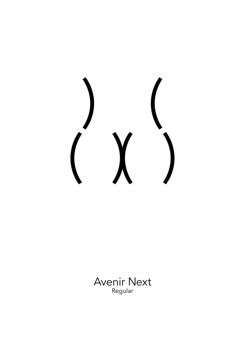Avenir Next by Viktor Hertz | metal posters - Displate