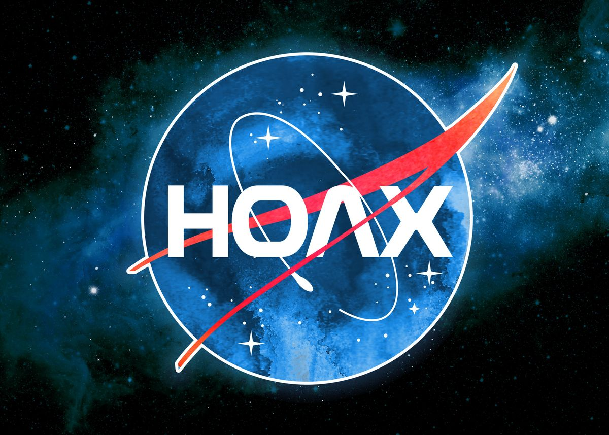 Hoax NASA Parody' Poster by RAWWR | Displate
