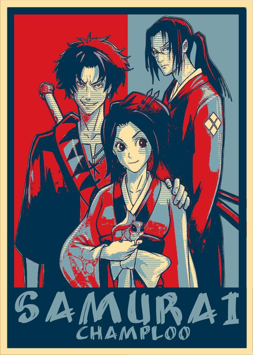 Samurai Champloo Poster Print By Miracle Studio Displate