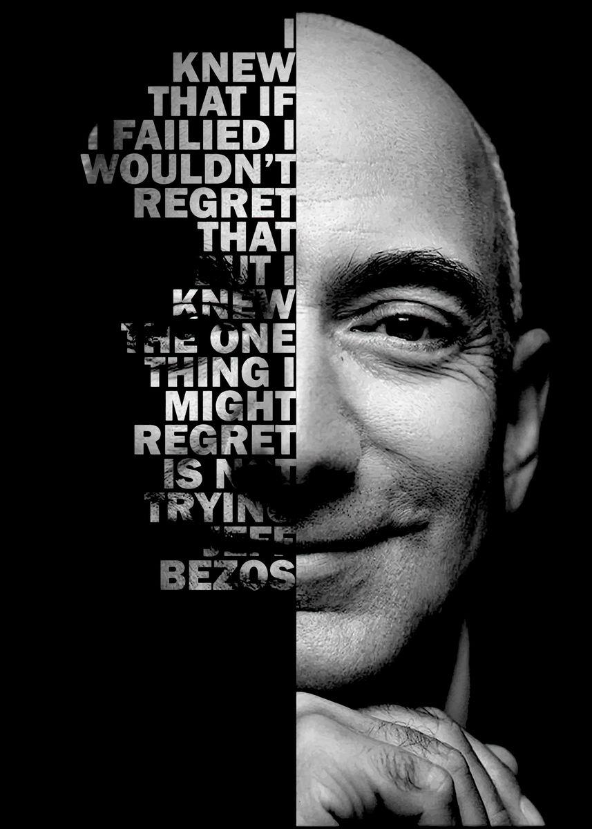 'Jeff Bezos ' Poster by BnWDesigner ...
