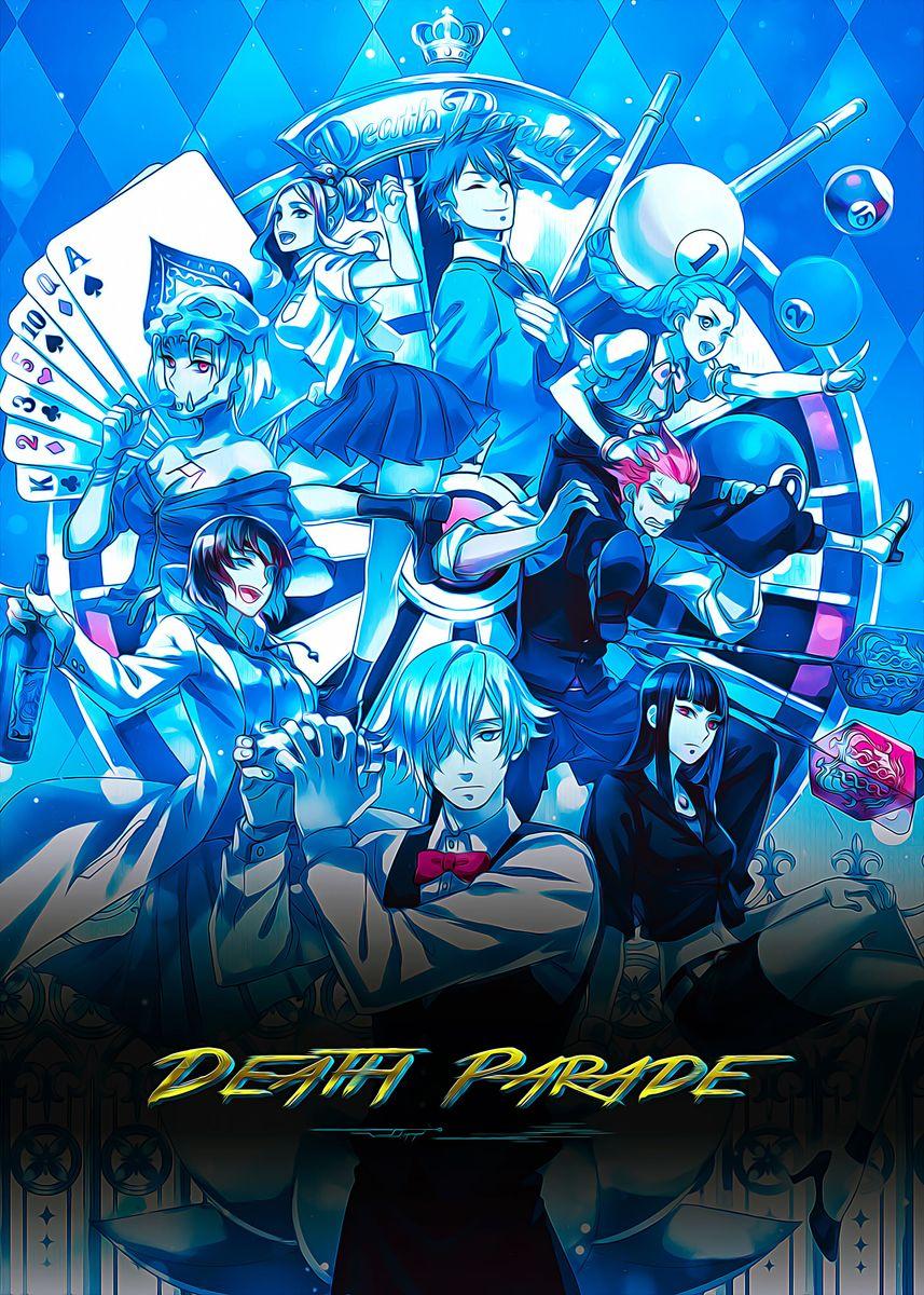 Death Parade Metal Poster Animyart Displate