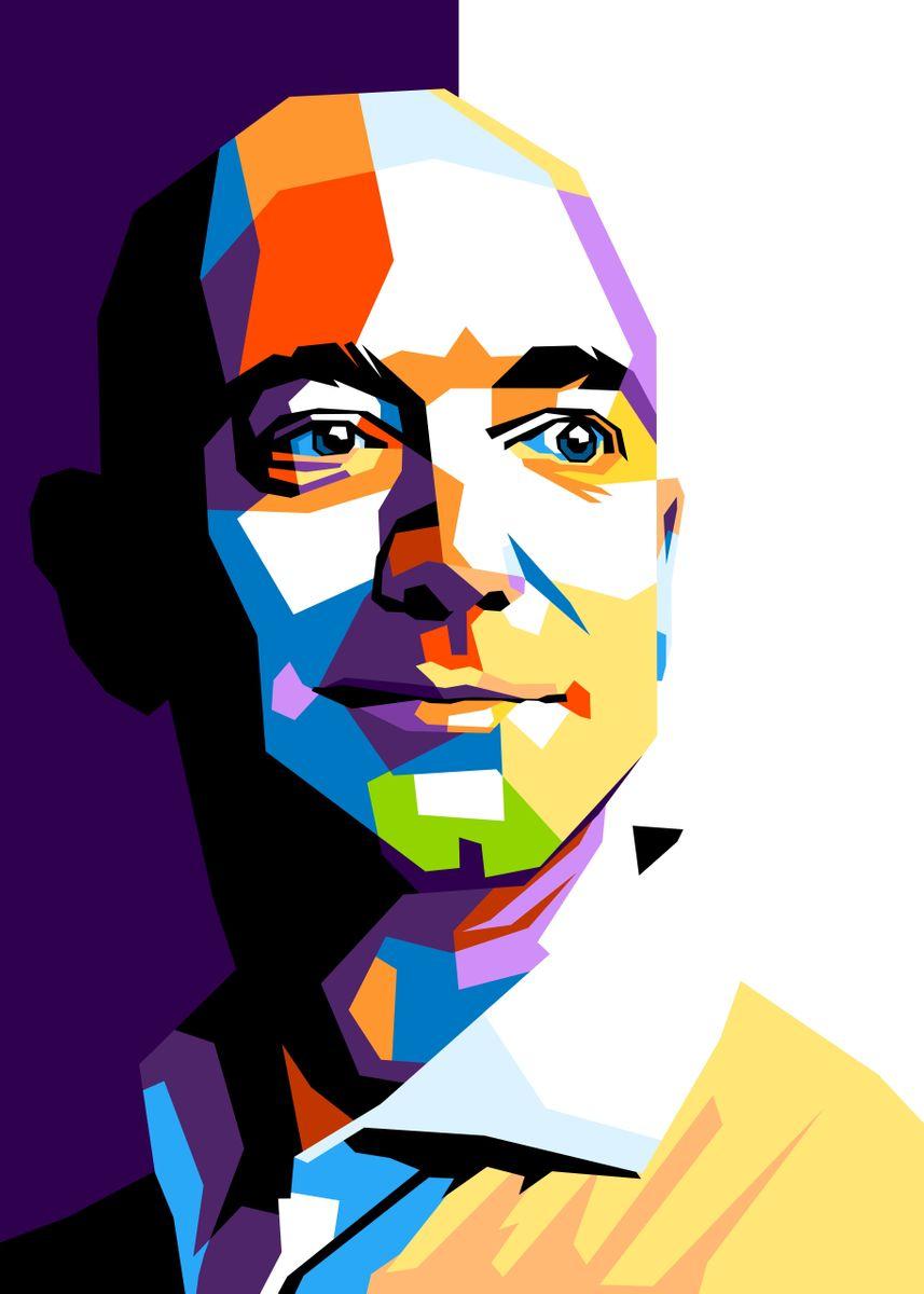 Jeff Bezos' Poster by Beny Rahmat ...