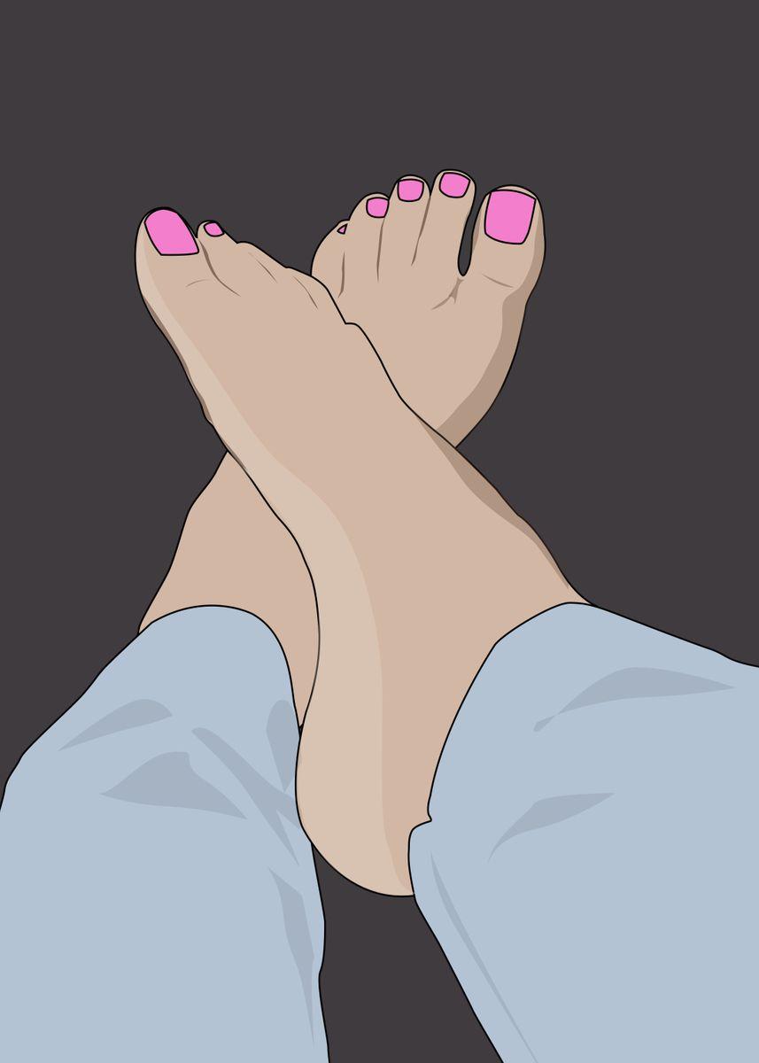 Pics beautiful feet Celebrities who