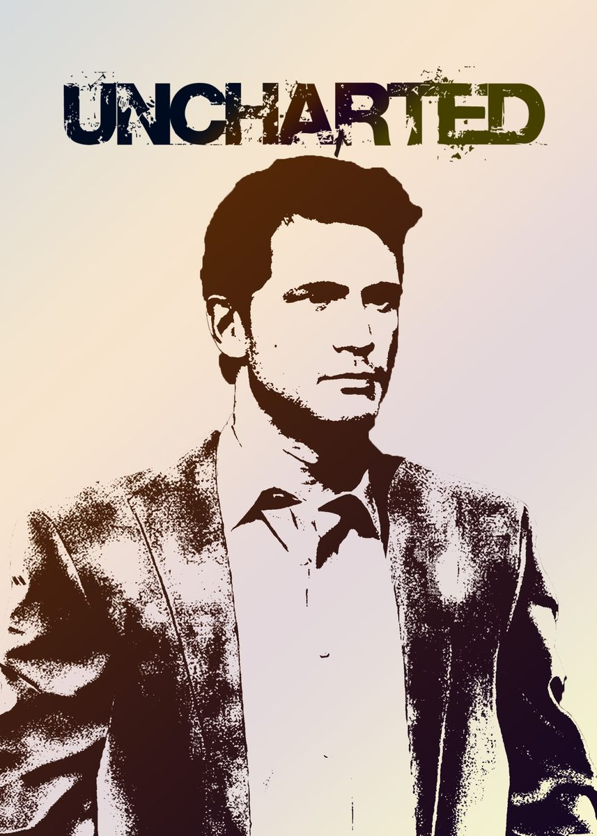 Uncharted 4 Poster Print By Chucky Blunt Displate