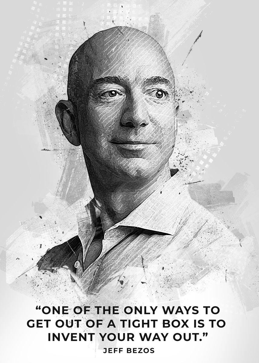 Jeff Bezos' Poster by Creativedy Stuff ...