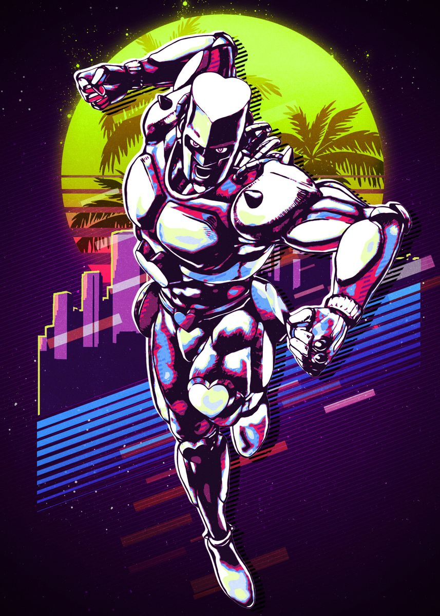 Jojo Crazy Diamond Metal Poster Print Omar D Displate In the midst of that, your power is kinder than anything else. jojo crazy diamond