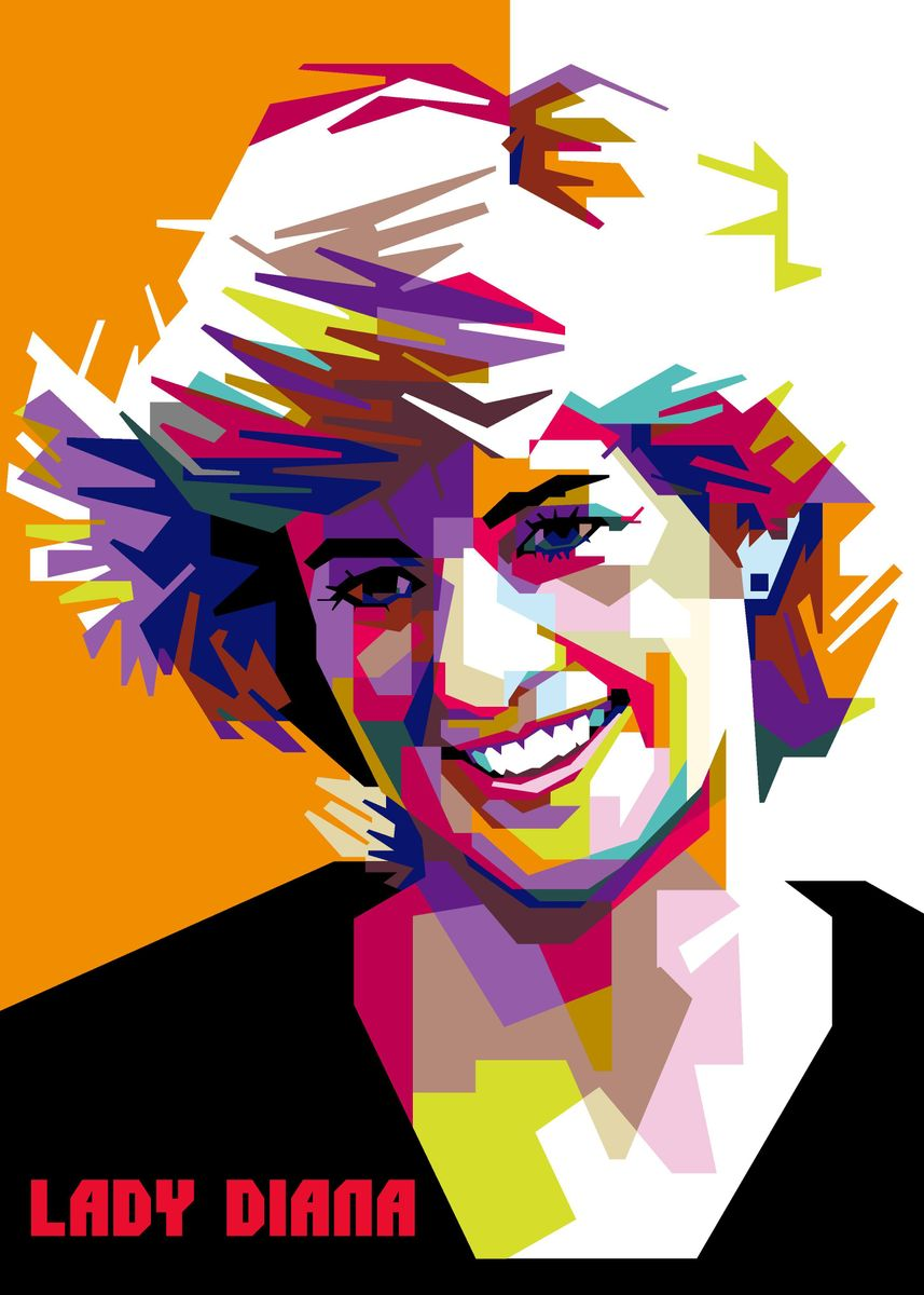 Lady Diana Poster Print By Day Art Displate