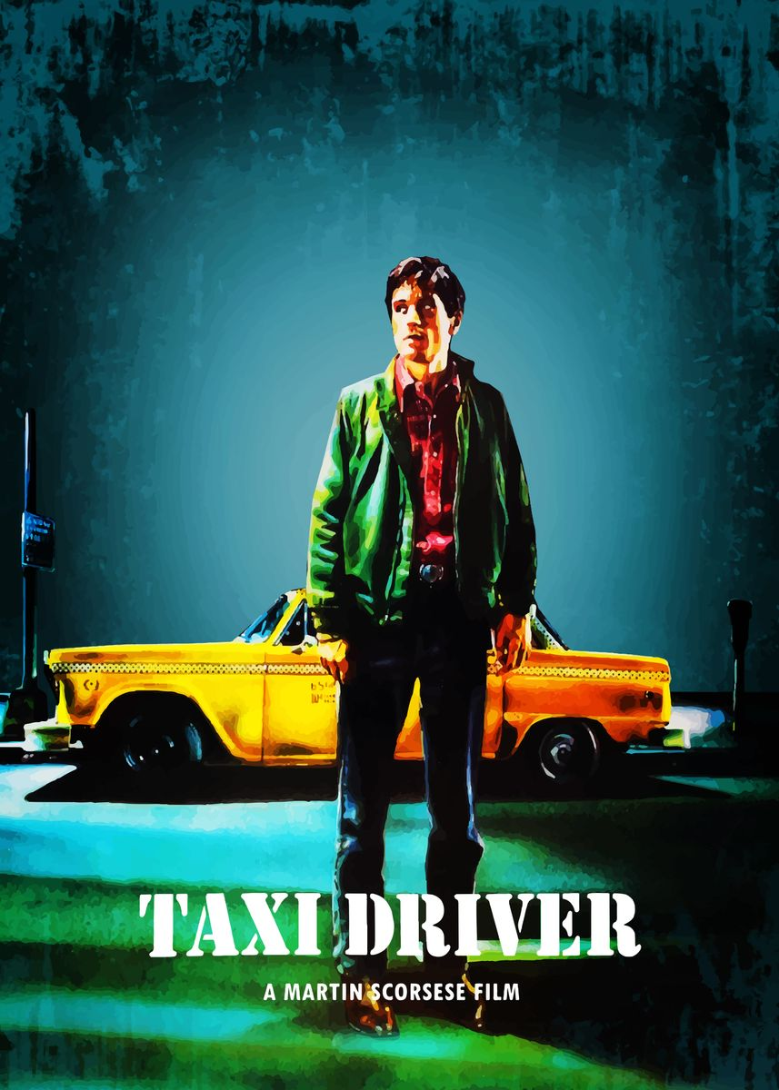 Taxi Driver' Poster by Bo Kev