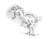 Ark Allosaurus Poster Art Print By Wolf Blaze Displate